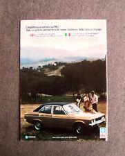 [GCG] L124- Advertising Pubblicità -1973- SUNBEAM 1250 SIMCA CHRYSLER