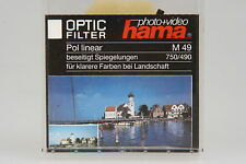 Hama Polfilter Linear Ø49mm in OVP #750/490
