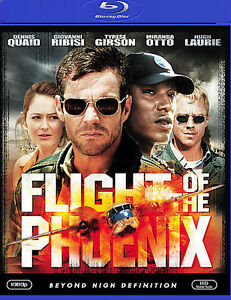 Flight of the Phoenix (Blu-ray Disc, 2009) Quaid Laurie