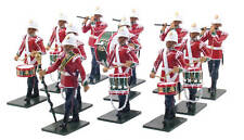 BRITAINS CORPS OF DRUMS 24TH BAND SET LIMITED 48008