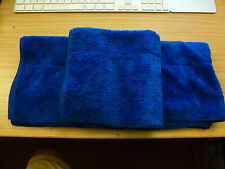 3 x Superior Quality 40cm x 40cm 400GSM Microfibre Polishing Cloths