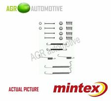 MINTEX REAR BRAKE SHOES SET FITTING KIT PIN SPRINGS GENUINE QUALITY - MBA629