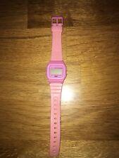 Pink Casio F-91W Watch