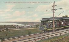 View from the Niagara Belt Line showing Queenston, Ont and Lewiston, NY