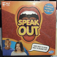 (AQ) New Authentic Hasbro SPEAK OUT Game Ready To Ship NEW Sealed
