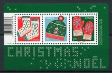 Canada 2018 MNH Christmas Winter Knits 3v M/S Knitting Stamps