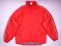Adidas Originals Jacke Winterjacke Vintage Retro Orange Herren Gr. M