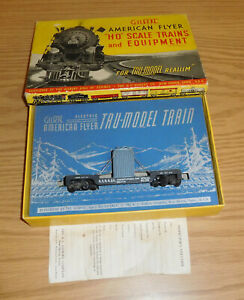 AC GILBERT HO GAUGE #129 NEW YORK NEW HAVEN HARTFORD TRANSFORMER CAR BOXED TRAIN