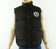 KINGSLAND Equestrian Riding Mens Dark Brown Down Vest Gilet Size L