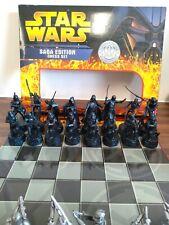 Star Wars Chess Set Saga Edition Numbered COMPLETE - EBA