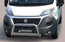 FIAT DUCATO ab 2014 Edelstahl Frontbügel Frontschutzbügel Rammschutz mit ABE
