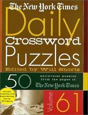 The New York Times Daily Crossword Puzzles Volume 61