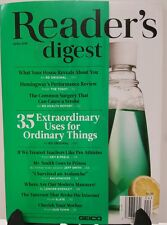 Readers Digest Extraordinary Uses for Ordinary Things Apr 2016 FREE SHIPPING JB
