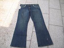 Schicke Damen Jeans mit Strass Besatz  Grösse UK 18 entspricht Gr.44