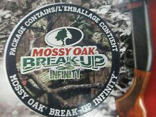 BREAK UP INFINITY Camo SCOPE Wrap Mossy Oak Water-proof Vinyl Skin DEER Hunting