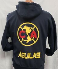5fdcfbaad6e Club deportivo Aguilas del America Generic Zip Up Hoodie Small.