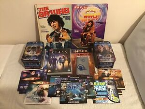 Doctor Who Annuals DVD Audio CDs Tins Wallet Posters Bundle