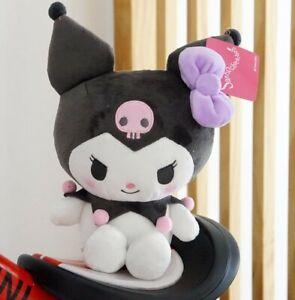 Super Cute Kuromi Plush Doll Stuffed Toy Figure Kid's Nice Gift 20cm Doll
