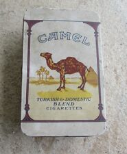 VINTAGE CAMEL CIGARETTE TIN TURKISH & DOMESTIC BLEND