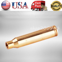 CAL. 223 REM Laser Red Cartridge Bore Sight 5.56 Boresight For Scope +Batteries