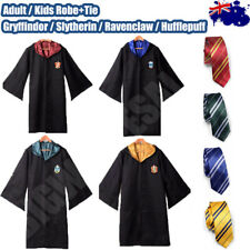 **Robe+Tie** Adult Kids Cosplay Harry Potter Costume Halloween Party BookWeek AU