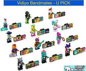 LEGO Vidiyo BANDMATES Minifigures 41301 Beatbits Music Sealed NEW! U PICK