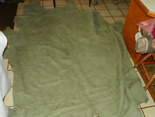 Light Green Leather Hide Full Hide Upholstery Weight 65 Square Feet