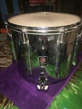Premier Silver Marching Tom Drum with Flobeam