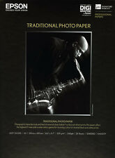 Papier photo jet d'encre Epson Tradition A4 25 feuilles 330g