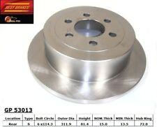 Disc Brake Rotor-Disc Rear Best Brake GP53013 fits 2003 Dodge Dakota