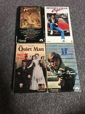 Beta Video Lot - Raiders Of The Lost Ark, Beverly Hills Cop, The Quiet Man, & If
