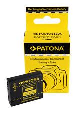 Batteria PATONA ricambio Panasonic BCJ13 DMW-BCJ13E BCJ13E DMC-LX5 Leica BP-DC10