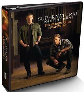 Supernatural TV Series: 2016 Cryptozoic Supernatural Seasons 4-6 Trading Cards