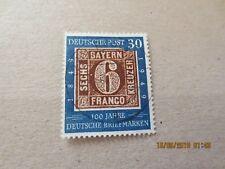 1949 BUND MNR 115 III gestempelt Vollstempel (heller Fleck links der 6 ) 115III