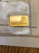 More details for 5g 24ct gold bar with certificate of authenticity