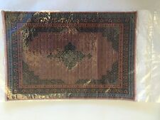 "Doll House Miniature Carpet / Rug  size 29 x 20cm (11.5"" X 8"")"