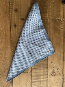 NEXT Mens Navy & Pink Check Suit Pocket Square New