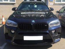 BMW F16 F86 X6M Style Kidney Grill Grille Grills Gloss Black 2014 ONWARDS