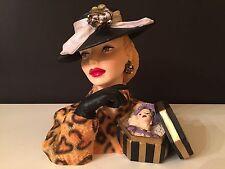 "Cameo Girls Head Vase Judith 1945 ""Smart Shopper""  LIMITED EDITION NIB FREE SHIP"