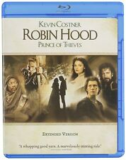 ROBIN HOOD :PRINCE OF THIEVES (Extended Version)  Blu Ray - Region free