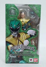 SH Figuarts Event Exclusive Power Rangers Green Ranger with Elbow Peg Error NMIB