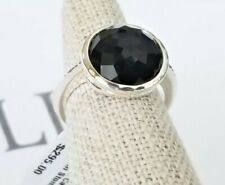 IPPOLITA - Rock Candy Black Onyx Knife Edge Ring - Size 7 - New with Tags!