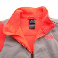 The North Face Girls Oso Full Zip Neon Pink Fleece Jacket Size M (10/12)