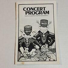 "Vintage Foreigner ""4� Tour Concert Program The Meadowlands, Nj 1982"