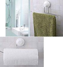 Towel Storage Tissue Toilet Paper Holder Rack Suction Bathroom Kitchen Organsier