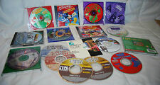 LOT OF 17 PC GAMES DISNEY, EMPIRE EARTH, I SPY, ROLLER COASTER TYCOON KIDS/TEENS