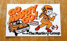 Renault 5 Turbo Texaco Win With The Martin Group Race Motorsport Sticker Decal