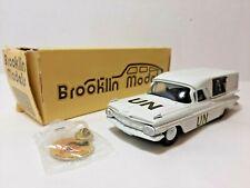 BRK 46X  Chevrolet EL CAMINO UN EMERGENCY Brooklin 46x 1959 Lim 1/43 1 OF 500