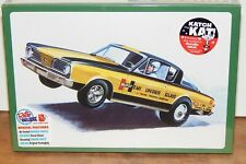 Amt Funny Car Hurst Hemi Under Glass Barracuda Model Car Kit