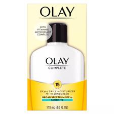 Olay Complete All Day Moisturizer Sensitive Skin - SPF 15 4oz EXP: 2021